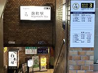 「麹町駅」3番出口